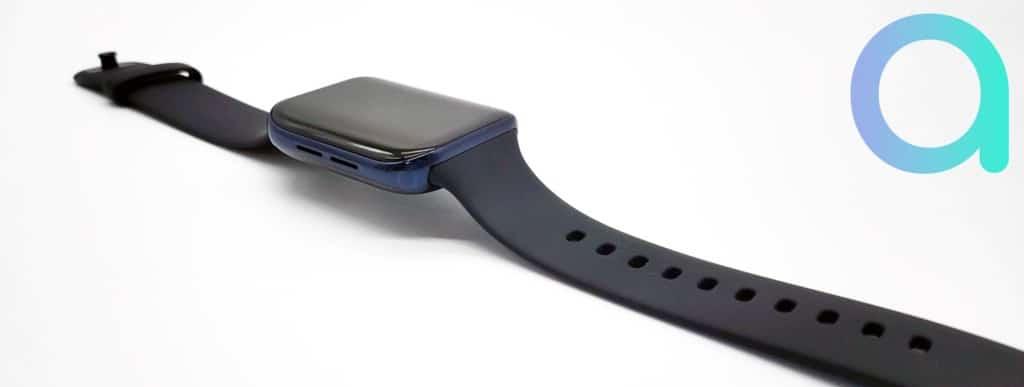 Oppo Watch LTE montre connectée 46 mm avec bracelet fluoélastomère