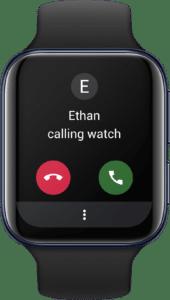 Oppo Watch LTE montre connectée qui peut être un smartphone a part entière soit avevc une SIM soit une eSIM dématérialisée