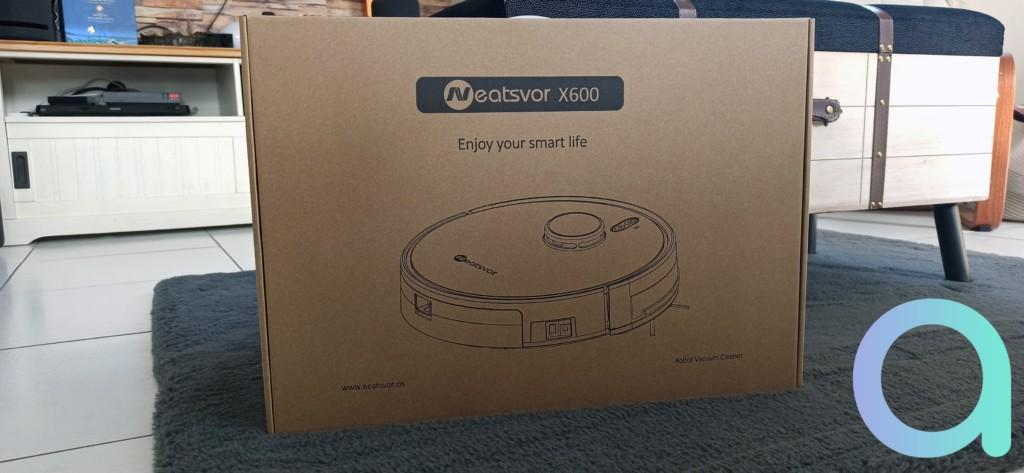 Packaging aspirateur Neatsvor X600