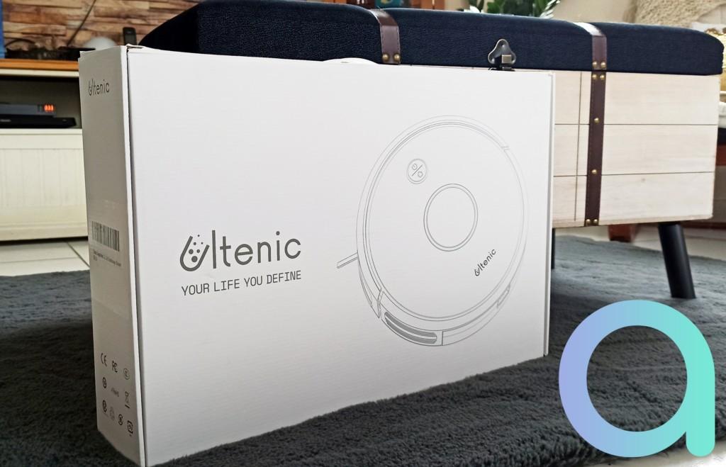 Packaging de l'aspirateur connecté Ultenic D5S Pro