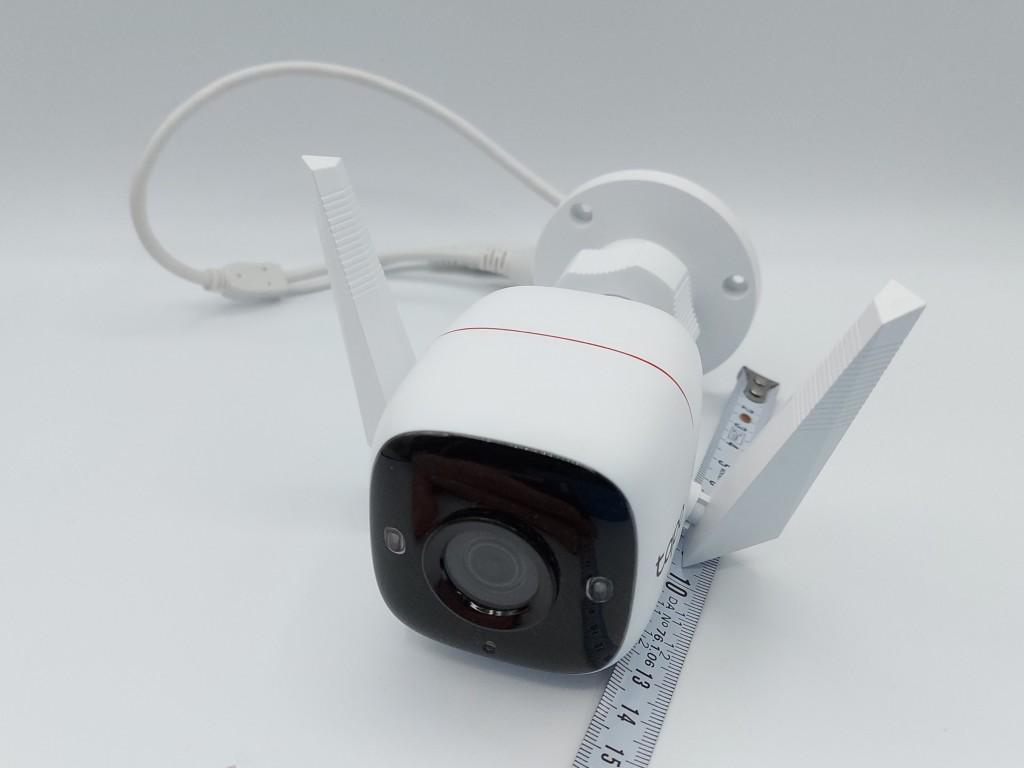 Profondeur de 14 cm de la caméra TP-Link Tapo C310