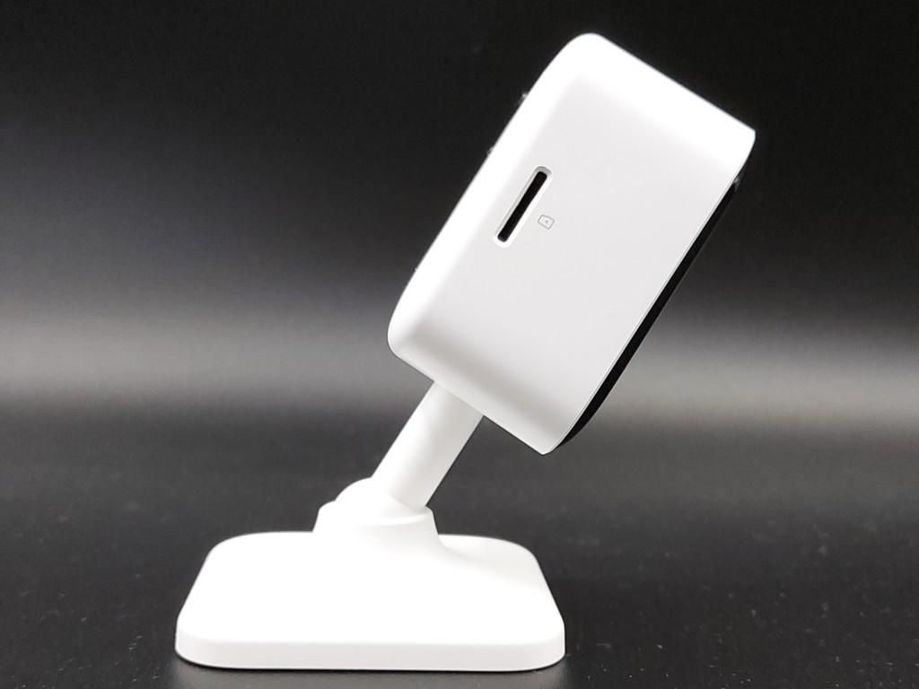 Slot pour carte micro SD pour caméra connectée d'interieur Teckin TC100