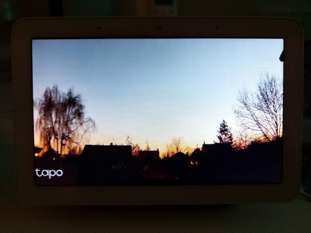 Vision de jour avec la caméra Tapo C310
