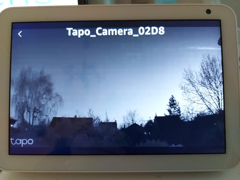 Vision de nuit avec la caméra Tapo C 310