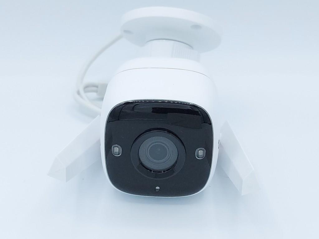 Vue de face de la caméra connectée extérieure TP-Link Tapo C310