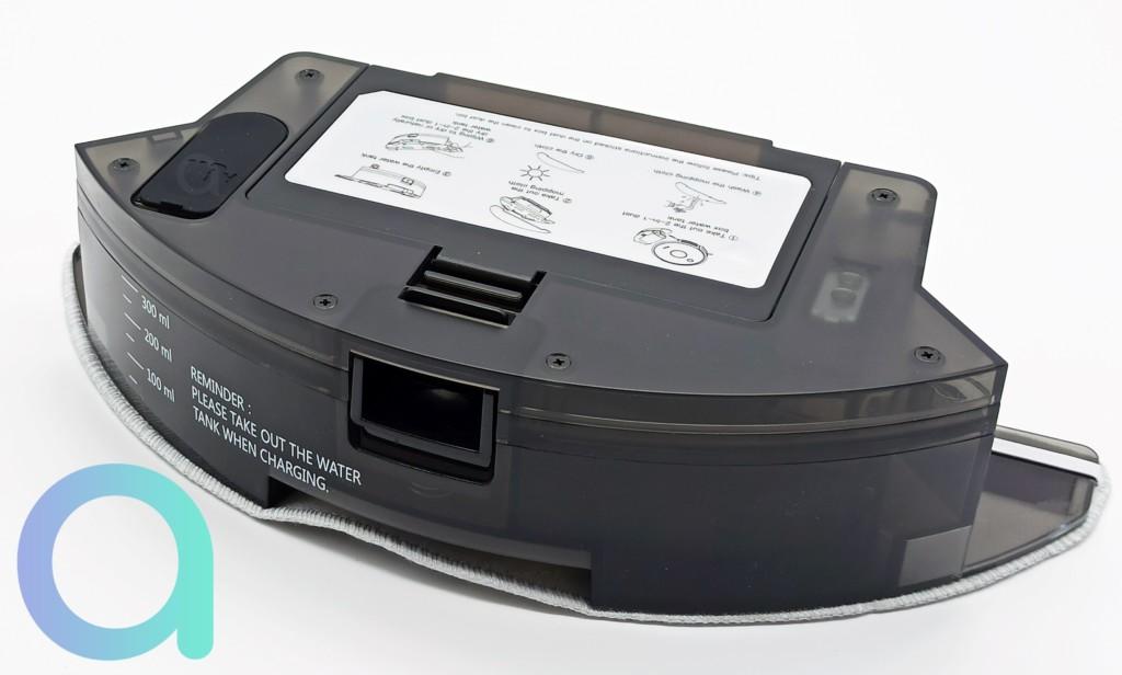 bac eau et poussières de l'aspirateur connecté Ulténic D5S Pro