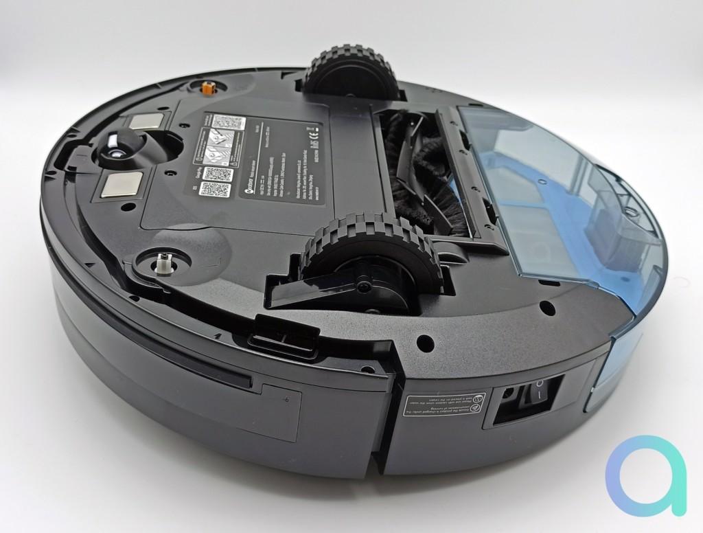 dessous de l'aspirateur connecté Neatsvor X600