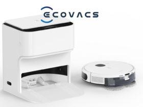 Ecovacs présente un nouveau robot aspirateur et laveur avec une station d'auto-nettoyage