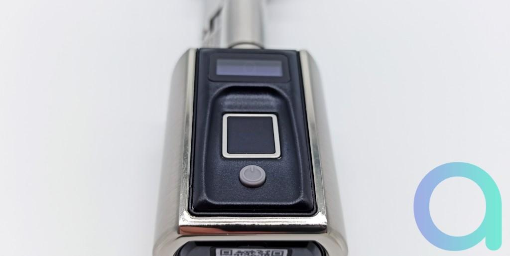 écran rétro éclairé de la serrure connectée We.lock