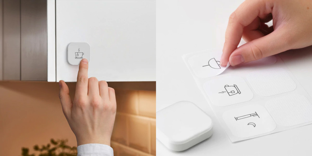 Ikea propose un bouton connecté Tradfri