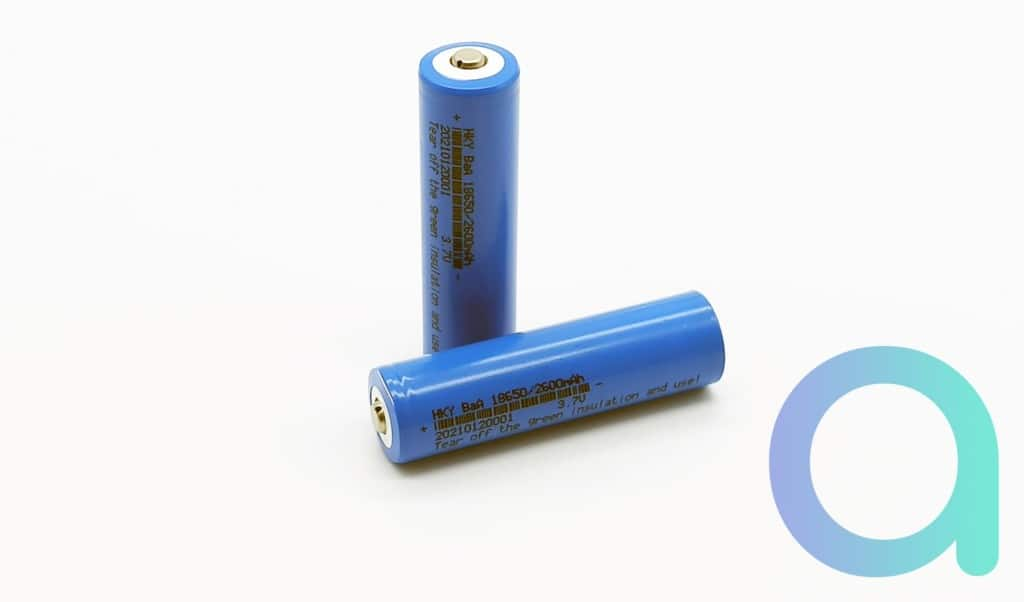 lot de 2 batteries de 2600 mAh pour la sonnette connectée Zemismart M16