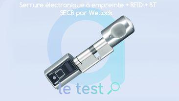 Photo of [TEST] We.Lock SECB : une serrure connectée à empreintes, entre autres…