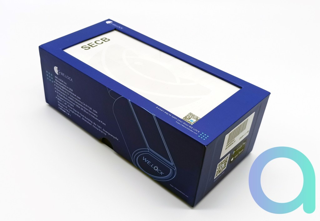 packaging de la serrure connectée We.lock SECB0EBL01