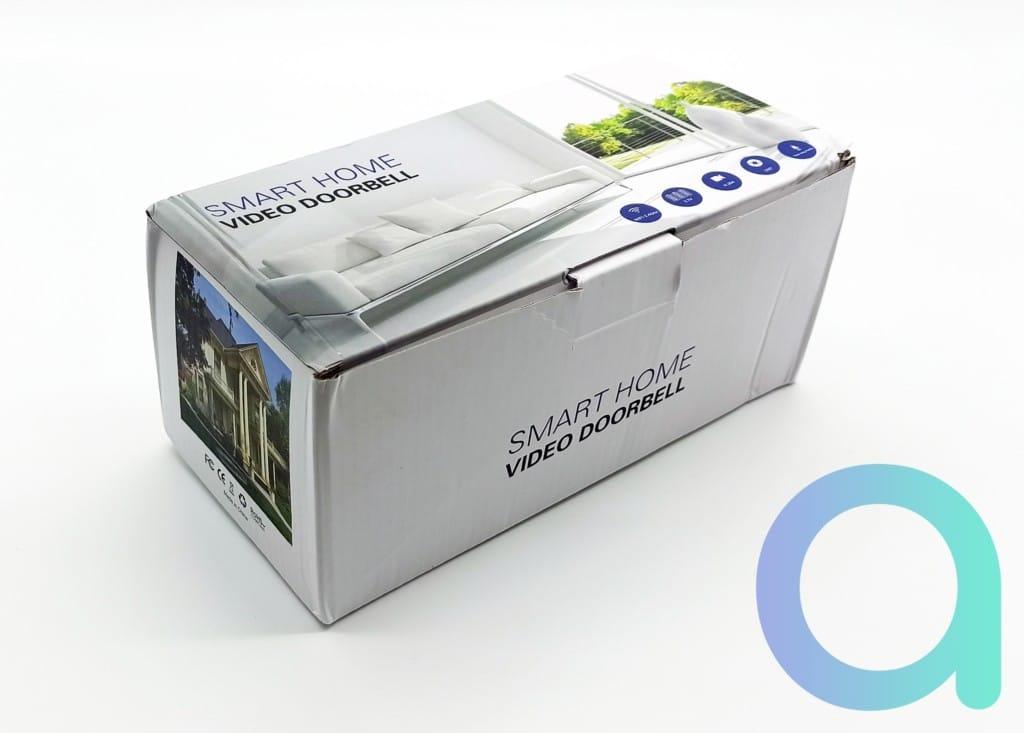 packaging de la sonnette connectée Zemismart M16