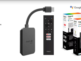 Sortie de la clé de streaming Polaroid Smartbox S avec Google Assistant