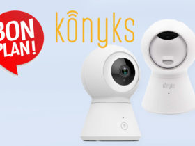 -25% sur le lot de deux caméras connectée Konyks