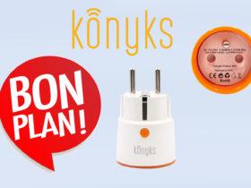 Promotion domotique sur les prises connectées Konyks