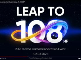 La marque dévoile son Realme 8 Pro avec un capteur 108 MPX