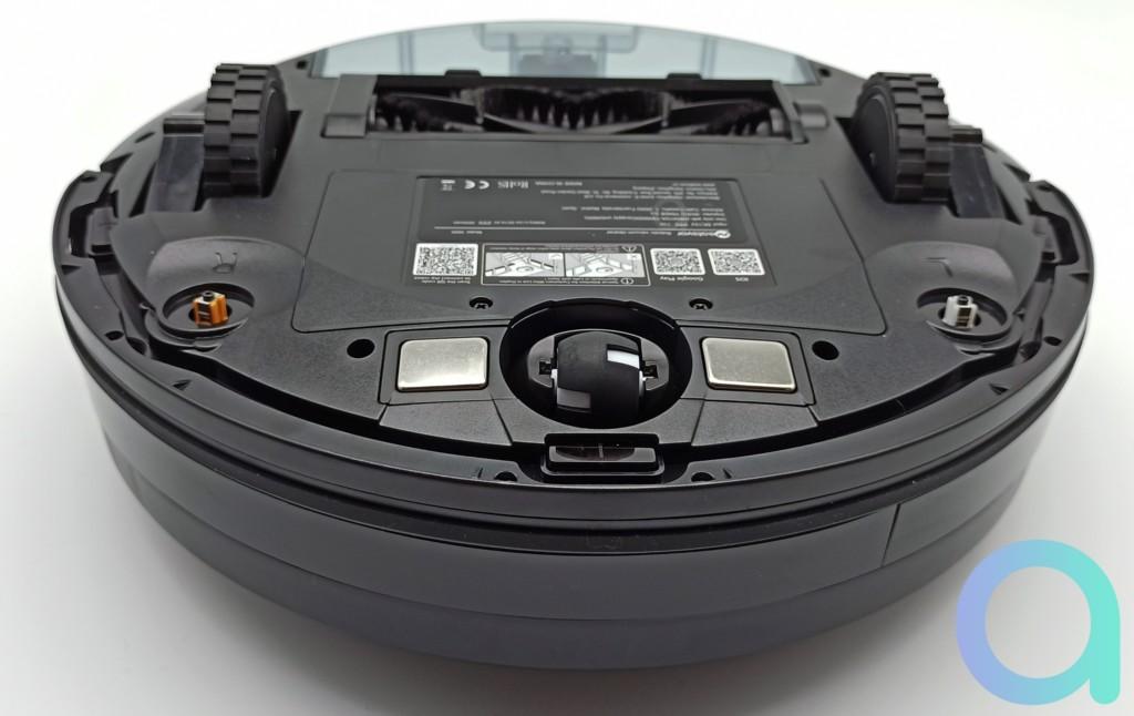 roulette articulée a 360 degrés de l'aspirateur Neatsvor X600