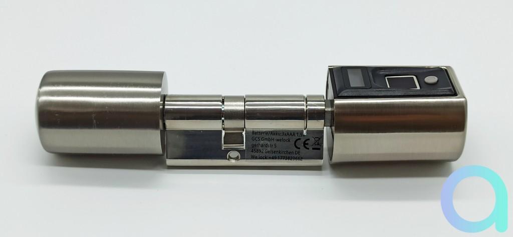 serrure connectée à empreinte et RFID de We.lock