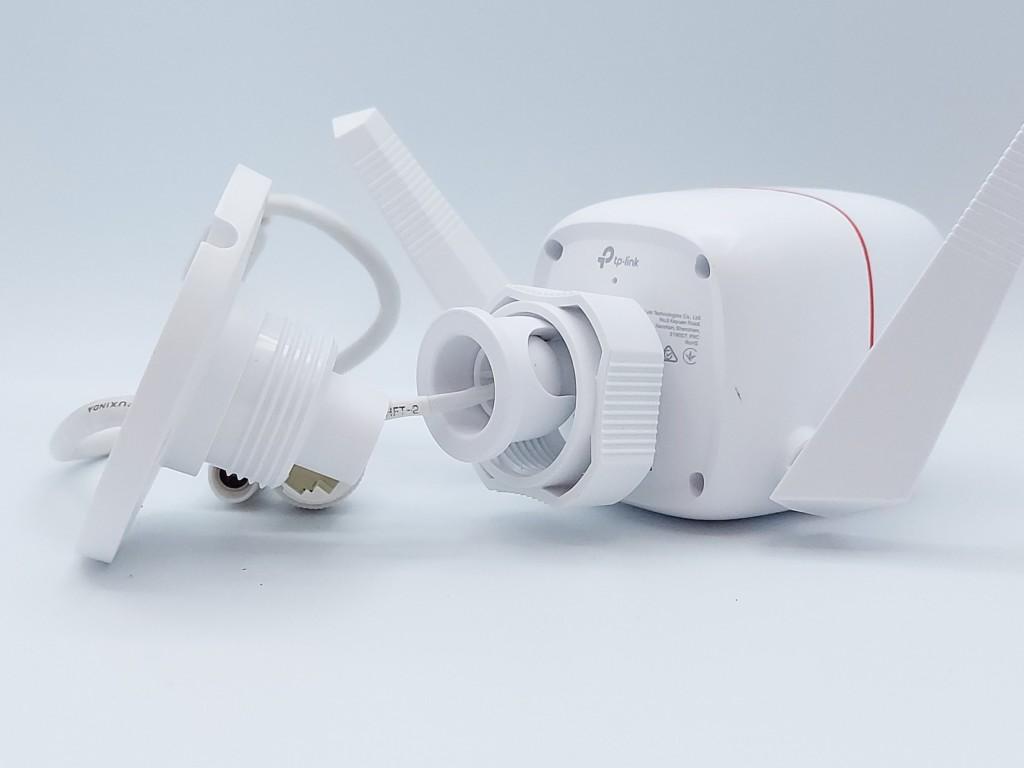 support de fixation de la caméra connectée extérieur TP Link Tapo C310