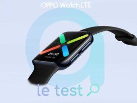 Notre avis sur la montre connectée Oppo Watch LTE