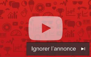 Plus de publicité sur YouTube?