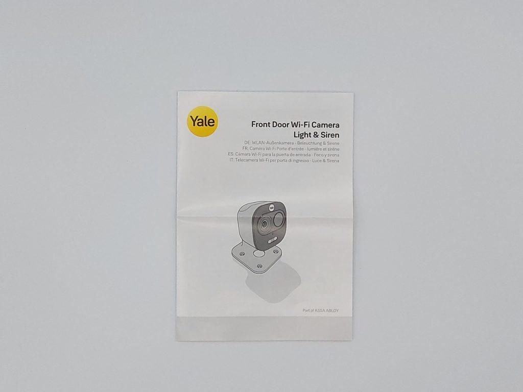 guide l'installation de la caméra de porte Yale