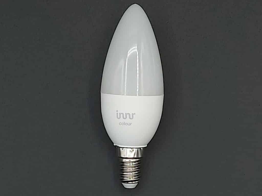 Ampoule Innr proposant un angle d'éclairage de 300°