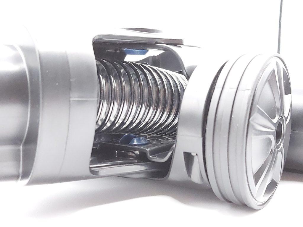 roue en plastique de guidage de l'aspirateur balai Proscenic P10 Pro