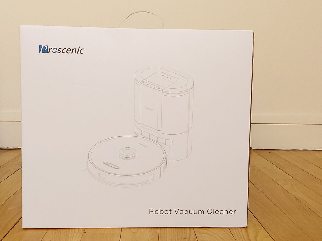Carton valise du robot aspirateur Proscenic M8 Pro
