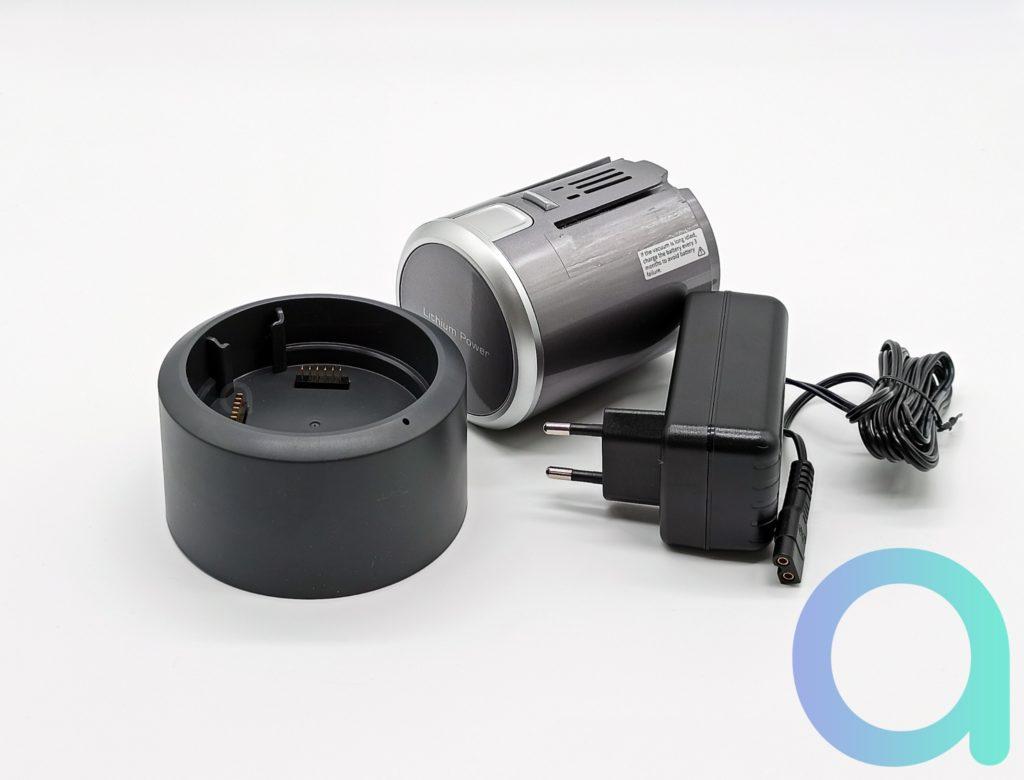 Dock de chargement pour batterie amovible de 3000 mAh de l'aspirateur balai Jimmy H9 Pro