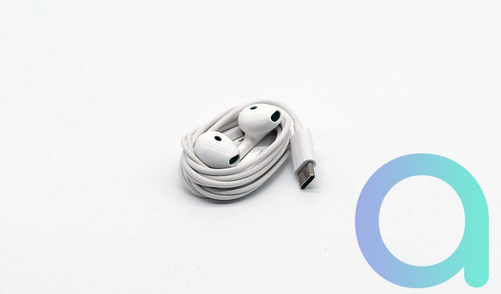 Ecouteur avec prise USB-C pour smartphone Reno4 d'OPPO