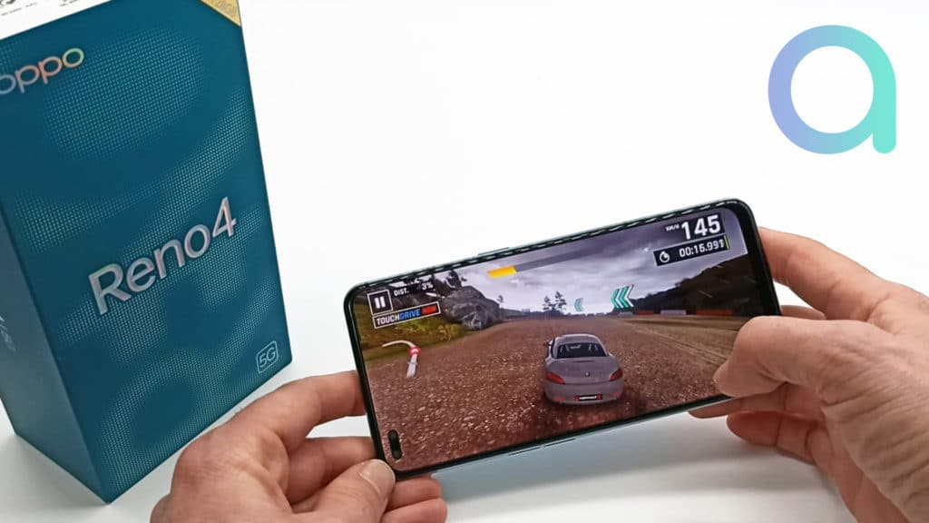 Qualité du rendu vidéo pour le gaming sur Smartphone OPPO Reno4