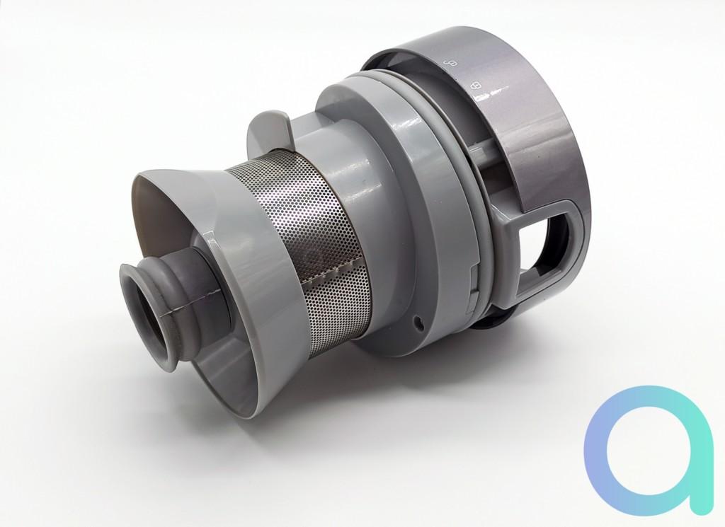 Système bi-cyclonique de l'aspirateur H9 Pro de Jimmy