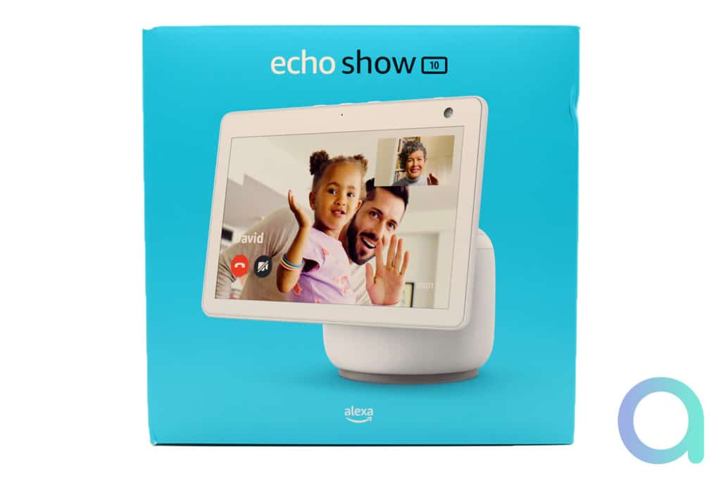 Le packaging Echo Show 10 est séduisant !