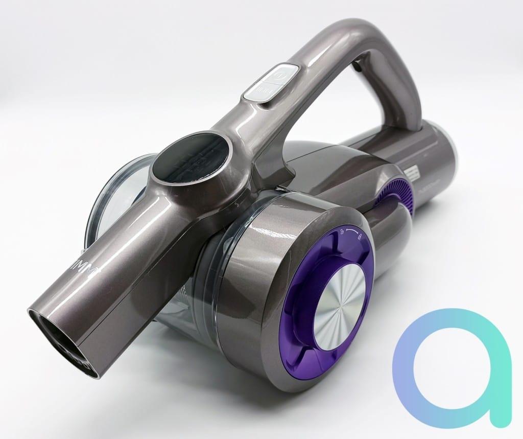 aspirateur balai H8 Pro de Jimmy avec moteur bi cyclonique horizontal breveté pour une poids du coprs principal de 1.5kg