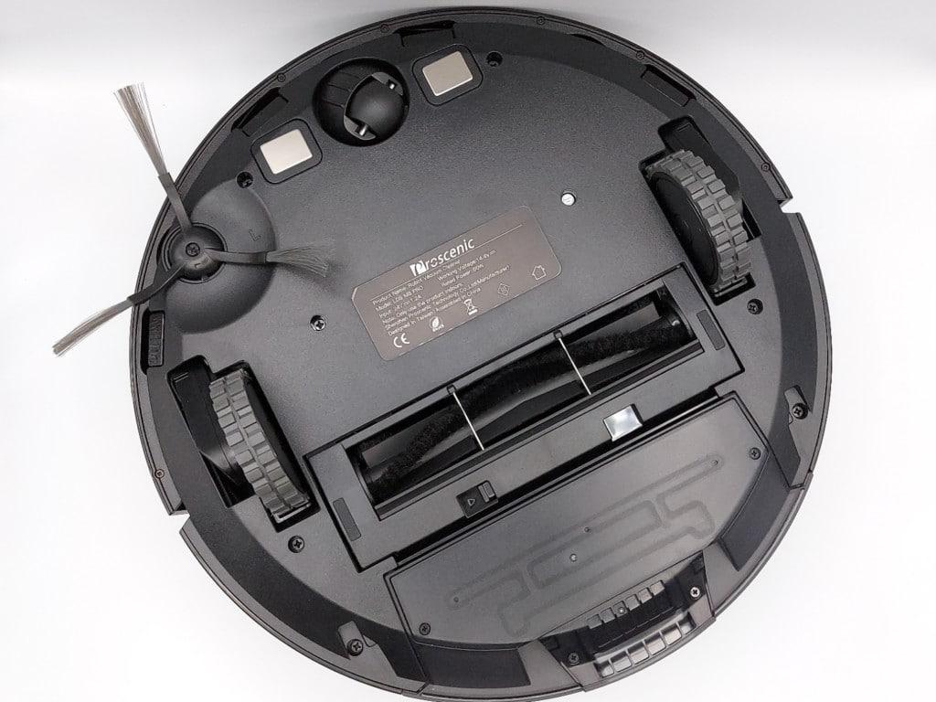 dessous de l'aspirateur robot Proscenic M8 Pro