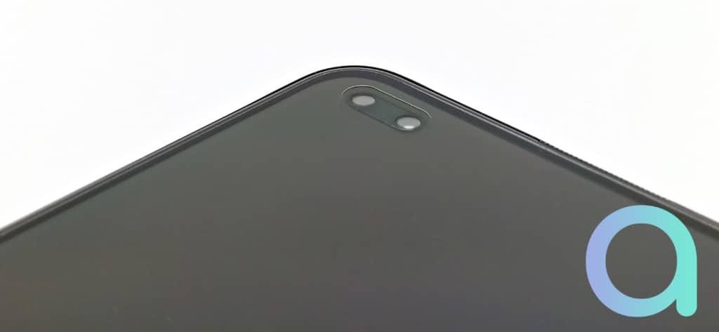 double capteur frontal sur le smartphone OPPO Reno4