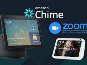 Zoom et Amazon Chime sont disponibles sur Echo Show
