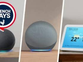 Les enceintes Amazon Echo avec Alexa sont en promotion pour les French Days