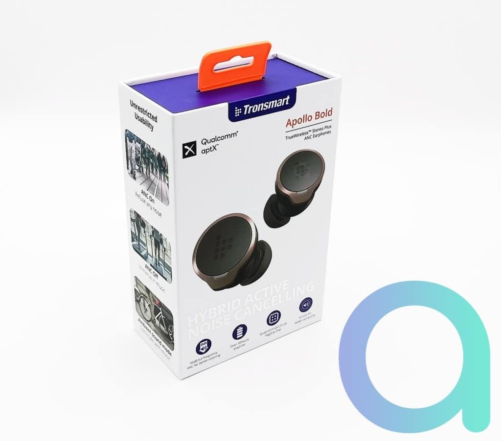 Packaging avant des écouteurs intra auriculaires Tonsmart Appolo Bold