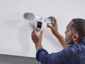 Amazon présente sa nouvelle caméra extérieure Ring Floodlight Cam Wired Pro