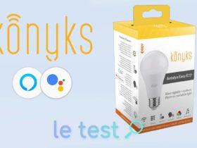 Notre avis sur la nouvelle ampoule connectées Konyks Antalya Easy E27