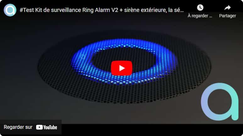 Test en vidéo de Ring Alarm V2 : l'alarme compatible Alexa