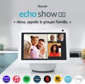 Appels vidéos de groupe sur Echo Show 10