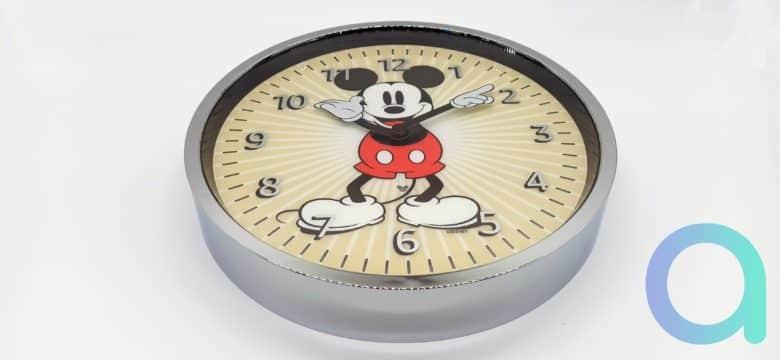 Horloge Amazon Echo Wall Clock série Mickey Mousse