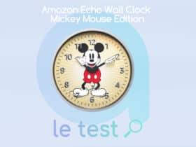 Notre avis sur Echo Wall Clock Mickey Mouse Edition
