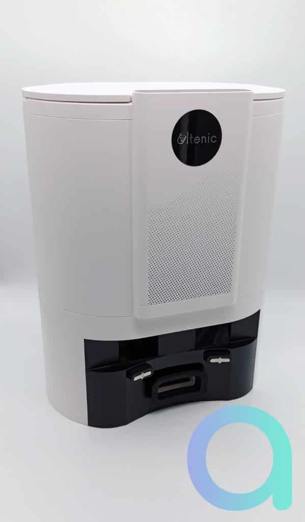 Ultenic présente sa base de rechargement/collecteur de déchet pour son robot Ultenic T10