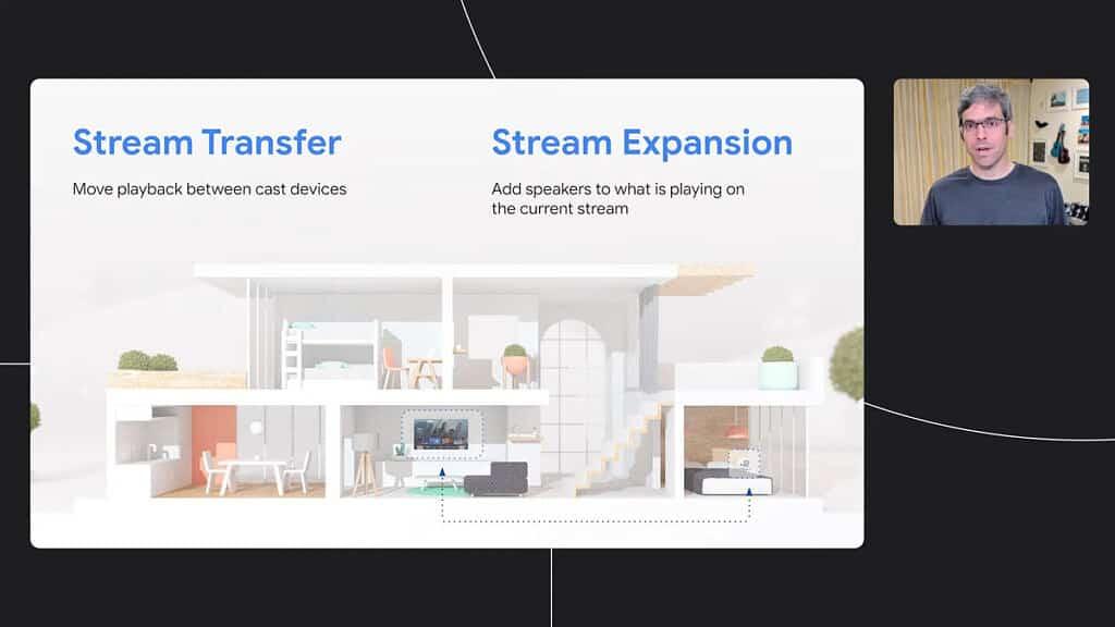 Stream Connect et Stream Transfer Expansion : deux nouveautés Google Cast annoncées par Google